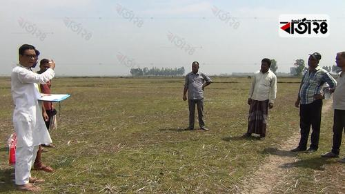 হবিগঞ্জে ৩ হাজার বিঘা জমি অনাবাদির বিষয়ে তদন্ত শুরু