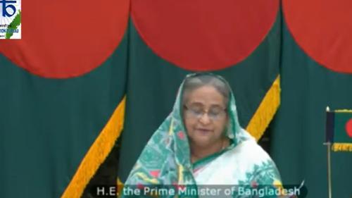Sheikh Hasina stresses on mutual cooperation to combat corona