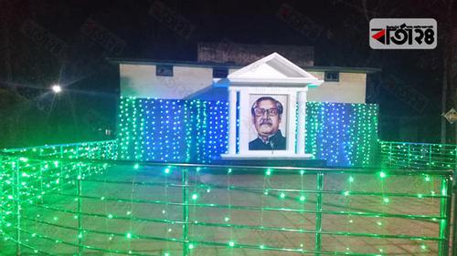 রংপুরে বঙ্গবন্ধুর ৬টি ম্যুরালের উদ্বোধন মঙ্গলবার