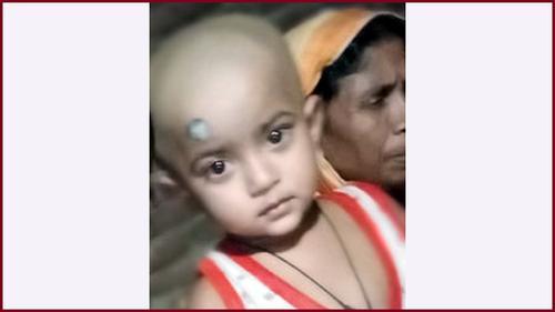 কোটচাঁদপুরে ৩ বছরের শিশুকে কুপিয়ে হত্যা