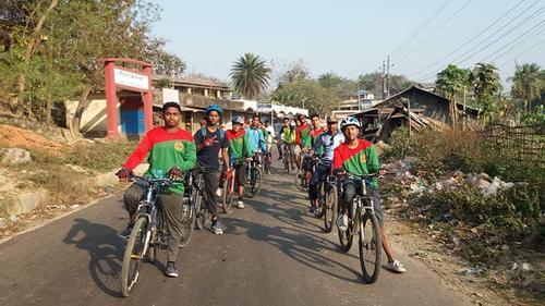 মুজিব বর্ষে চট্টগ্রামে সাইক্লিং রেস প্রতিযোগিতা