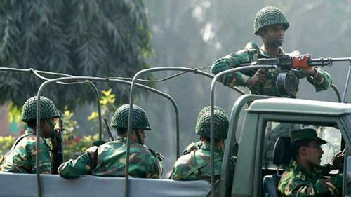রাজবাড়ীতে সেনাবাহিনী মাঠে নামবে বুধবার ভোরে