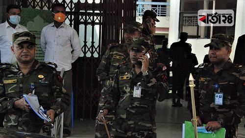 রংপুরে ৩ ভাগে কাজ করছে সেনাবাহিনী