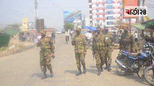 খুলনায় মাঠে নেমেছে সেনাবাহিনী