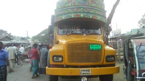ফুলপুরে ট্রাকচাপায় মোটরসাইকেল চালক নিহত