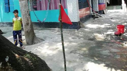 শার্শায় বিদেশ ফেরত ২৪২ ব্যক্তির বাড়িতে লাল পতাকা