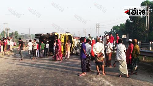 Five killed in Tangail road crash