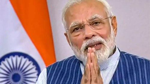 Modi seeks apology to the poor people of India