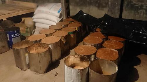 গাংনীতে ৩৮ টিন ভেজাল গুড় জব্দ, জরিমানা