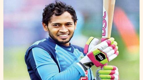 Mushfiq's bat auctioned at Taka 17 lakh