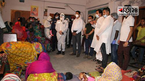 পটুয়াখালীতে আশ্রয়কেন্দ্রে ২ লাখ মানুষের সেহেরি-ইফতারের ব্যবস্থা