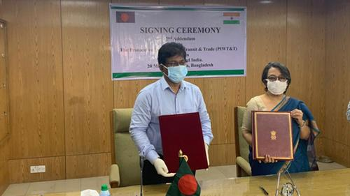 2nd Addendum on Protocol on Inland Water Transit and Trade between  India and Bangladesh