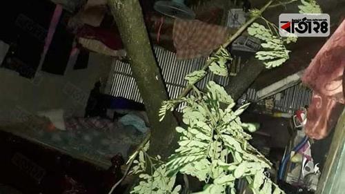 যশোরে তাণ্ডব শেষে রাজশাহীর দিকে আম্পান
