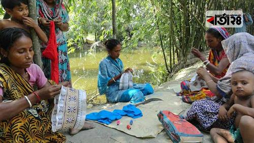 করোনায় টুপি রফতানি বন্ধ, ঈদ আনন্দ বঞ্চিত নারী শ্রমিকরা