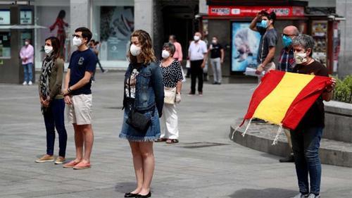 স্পেনে ১০ দিনের রাষ্ট্রীয় শোক ঘোষণা