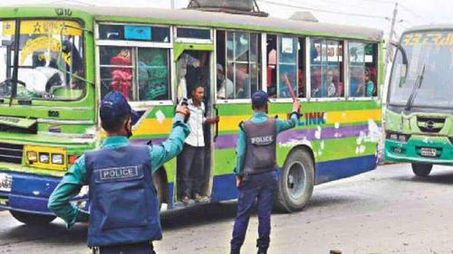 Police to look on public transports