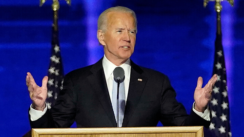 Now is the time to heal the wounds of USA: Joe Biden