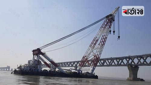 39th span of Padma Bridge will be set on Friday