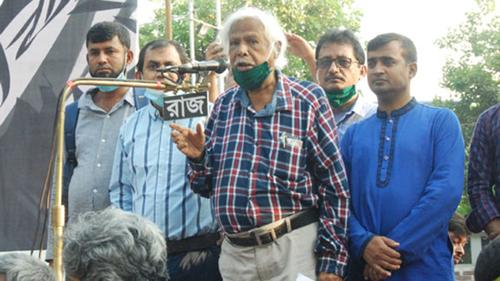 একটু জোরে ধাক্কা দিলেই সরকার পড়ে যাবে: জাফরুল্লাহ
