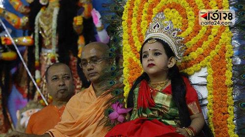 Durga Puja celebration in restrictions due to Corona