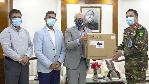 bKash provided 10 ventilators to Dhaka CMH