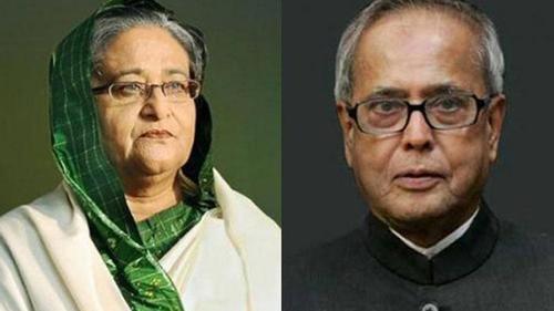 Sheikh Hasina condoles the death of Pranab Mukharjee