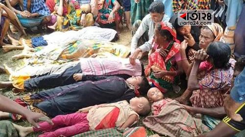 Ten bodies of Netrokona trawler mishap handed over
