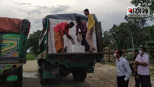 'Puja Special: second Hilsha consignment goes to India'