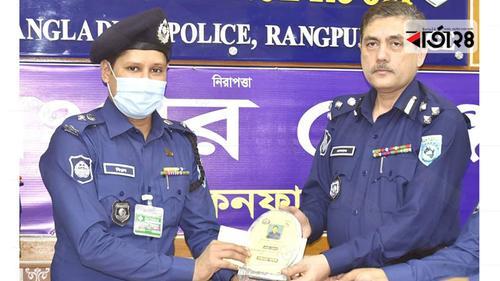 ৫ম বার শ্রেষ্ঠ এসপি'র পুরষ্কার পেলেন বিপ্লব কুমার