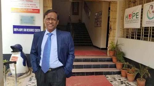 Dr. Bijan Sheel leaves Bangladesh
