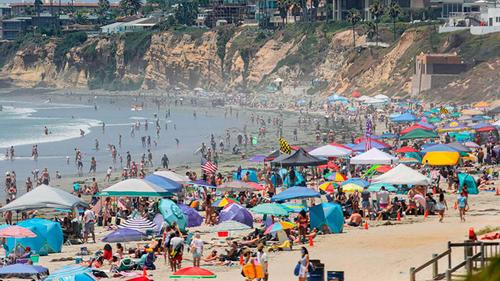 Corona infection rises as soon as the tourist spots open in Europe