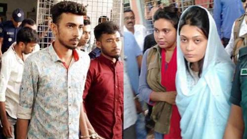 Court sends six including Minni to gallows in Rifat murder case
