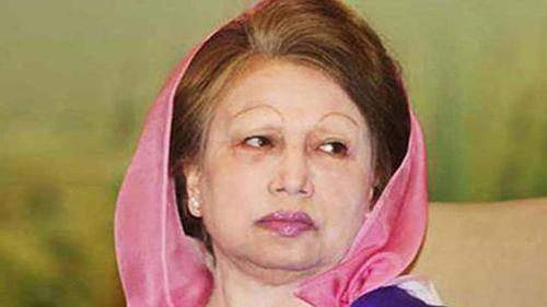 Khaleda Zia tests positive