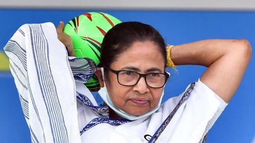 BJP-Trinamool fierce fight, Momata ahead in polls