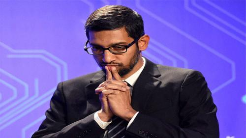 Google CEO is 'upset' for his country
