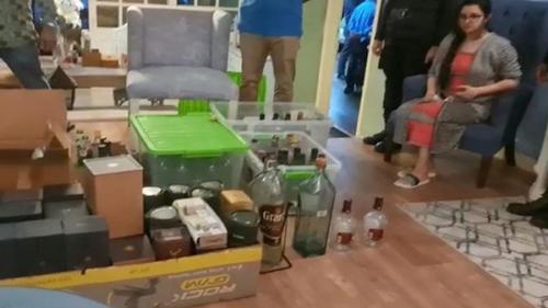 Dangerous drug LSD-Ice recovered from Porimoni's house