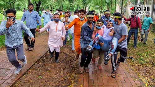 চন্দ্রিমা উদ্যানে বিএনপি-পুলিশ সংঘর্ষের ঘটনায় ৩ মামলা