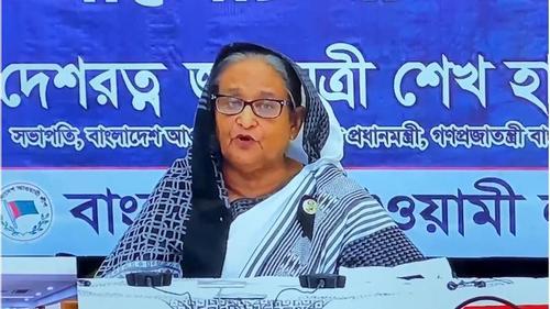 PM Sheikh Hasina blames BNP-Jamaat alliance for August 21grenade attack