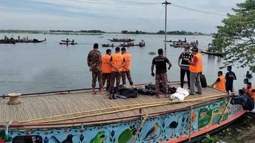 ব্রাহ্মণবাড়িয়ায় নৌকাডুবি: উদ্ধার অভিযান সমাপ্ত
