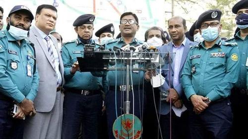 Mask wearing is mandatory at Shaheed Minar premises