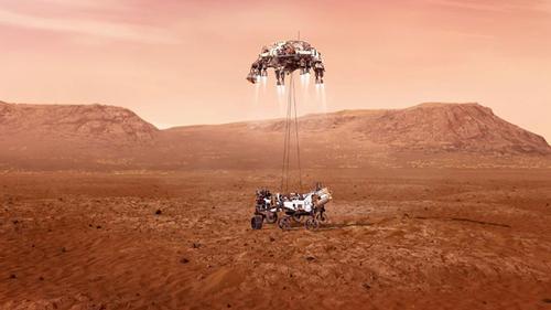 NASA spacecraft 'Perseverance' touches Mars