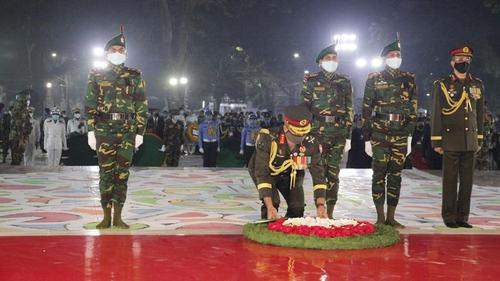 President, Prime Minister pays homage to the language martyrs