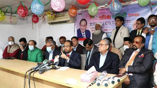 BNP-Awami League have shackled Democracy: GM Quader