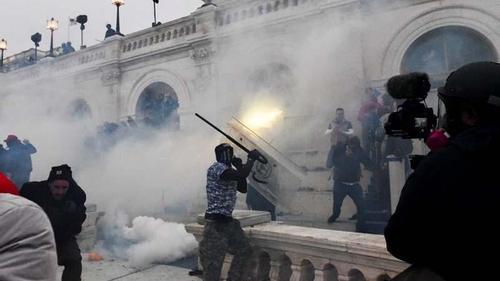 Capitol Hill blocked, curfew in Washington