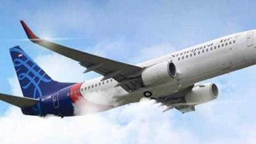 Missing passenger plane of Indonesia crashes into the sea