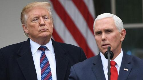 Mike Pence rejects Democrats pressure to remove Trump