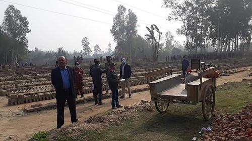 গোবিন্দগঞ্জে ১২ ইটভাটাকে জরিমানা ৪৩ লাখ টাকা