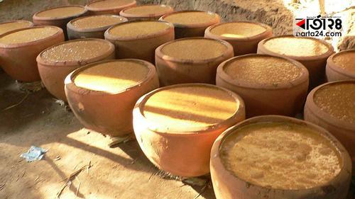 চিনিকল বন্ধ, চলছে অবৈধ মাড়াইকলে গুড় তৈরির উৎসব
