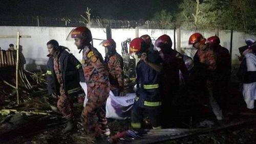 Four people killed in an electricity originated fire in Naryanganj