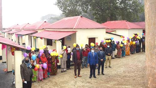 1480 houses handed over in Faridpur on behalf of the Prime Minister
